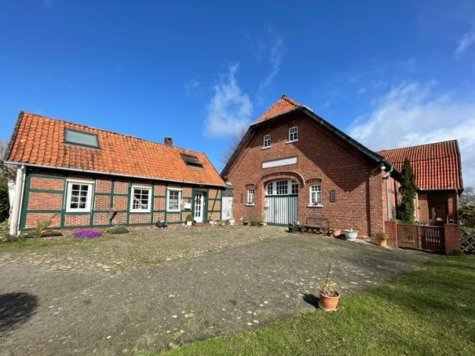 VERKAUFT! Alleinlage – Bauernhaus mit gewerblichen Nebengebäuden, 28870 Ottersberg b Bremen, Haus